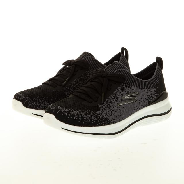 【SKECHERS】女 健走系列 GOWALK STRETCH FIT(124384WBKW)