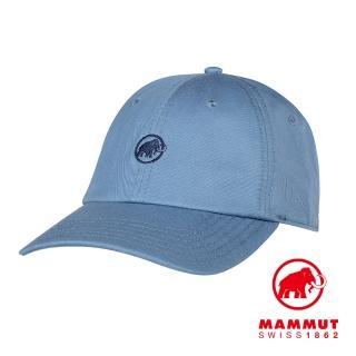【Mammut 長毛象】Baseball Cap Mammut 經典棒球帽 蒼藍 #1191-00051