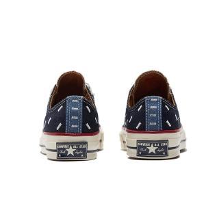 【CONVERSE】CHUCK 70 OX 低筒 休閒鞋 男女 丹寧牛仔 拼接 牛仔 深藍(171065C)