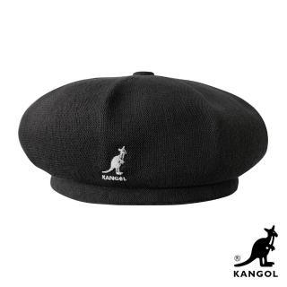 【KANGOL】BERMUDA JAX 貝蕾帽(黑色)