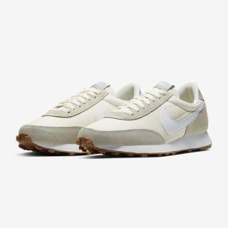 【NIKE 耐吉】運動鞋 女鞋 運動鞋 麂皮 Dbreak 米白 CK2351-101