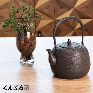 【薰山南部鐵壺】棗型.櫻(日本盛岡名匠鐵壺)/