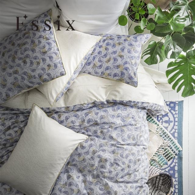 【ESSIX】100%長織綿印花被套-藍鼓之歌(加大240x210cm)/