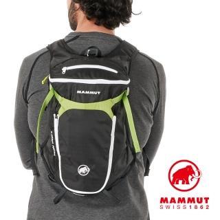 【Mammut 長毛象】Neon Speed 15L 登山後背包 石墨灰/萌芽綠 #2510-03180