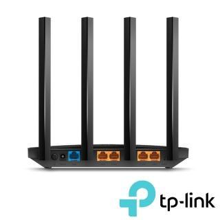 【TP-Link】Archer A6 AC1200 Gigabit雙頻無線網路 MU-MIMO WiFi路由器(Wi-Fi分享器)