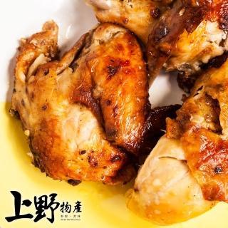 【上野物產】去骨帶皮嫩雞腿排 香草口味x20片(116g土10%/片)