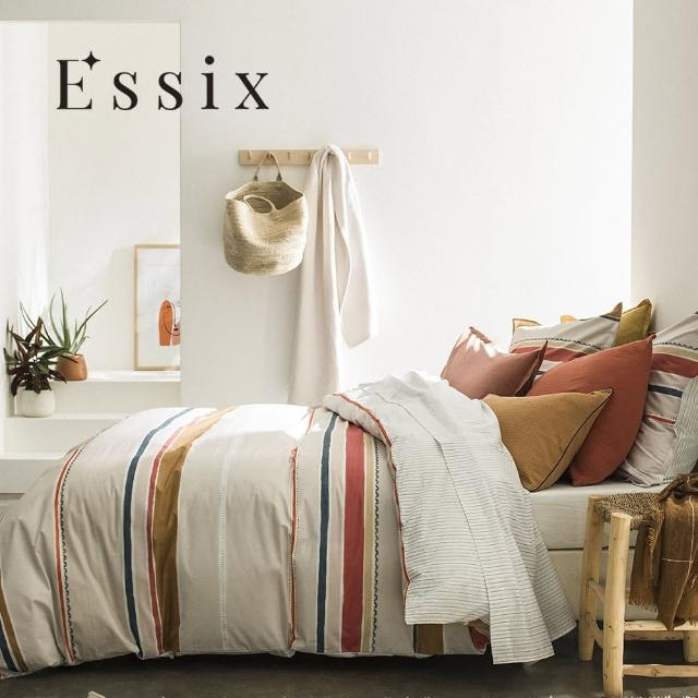 【ESSIX】100%長織綿印花被套-午後出走(加大240x210cm)/