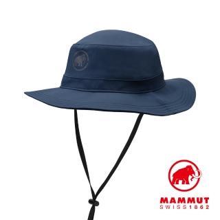 【Mammut 長毛象】Runbold Hat 休閒輕量透氣漁夫帽 海洋藍 #1191-04612