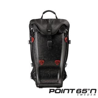【POINT 65°N】GTX 25L 馳聘無 界旗鑑硬殼包(頂級背墊/限量鍛造碳纖霧面黑)