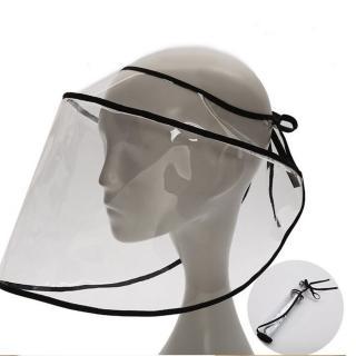 【HaNA 梨花】疫情期間防護面罩防飛沫.防飛沫噴濺檔板適用各類帽型2入(帽用檔板2入)