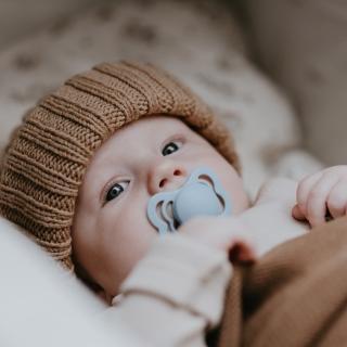 【丹麥BIBS】COUTURE拇指型矽膠奶嘴(丹麥奶嘴)