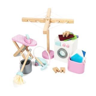 【LE TOY VAN】夢幻娃娃屋配件系列-娃娃屋專屬洗衣房(ME038)