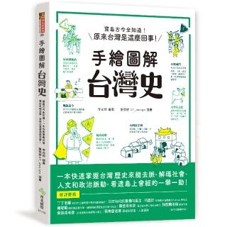 手繪圖解 台灣史:寶島古今全知道!在地人不可不知、外國人值得一讀,閱讀百則關鍵大事,快速掌握台灣歷史