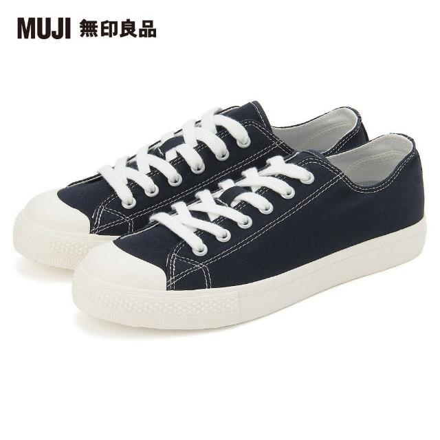 【MUJI 無印良品】撥水加工有機棉舒適休閒鞋(共5色)