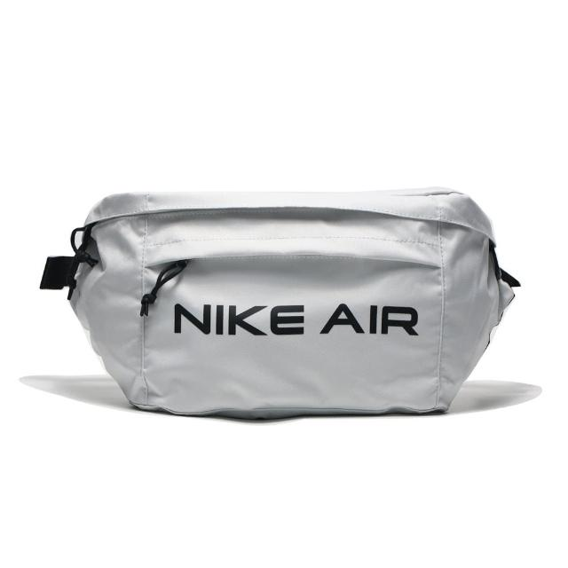 【NIKE 耐吉】腰包 側背包 隨身包 白 大容量 AIR TECH WAIST BAG(DC7354-025)