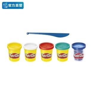 【PLAYDOH 培樂多】補充罐系列(無毒 藍寶石限定4+1組 F1848)