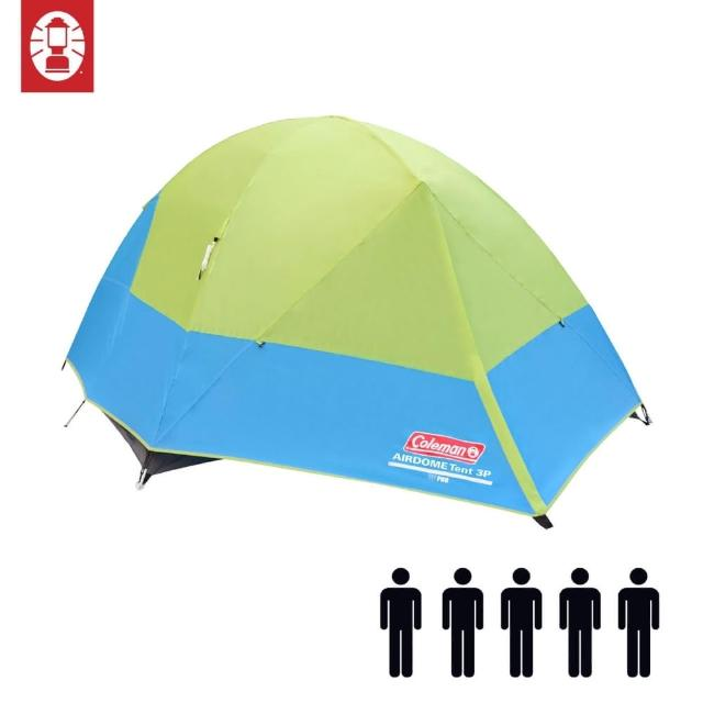 【Coleman】五人圓頂帳篷 5-Person Airdome Tent(登山 雙窗 透氣 防雨)