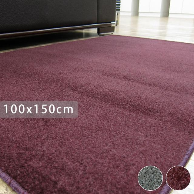 【范登伯格】亞堤斯素面時尚地毯-共兩色(100x150cm)/