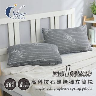 【加價購】多款機能獨立筒枕(台灣製造/防蹣抗菌/速達)