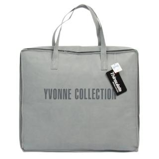【Yvonne Collection】梗犬愛骨頭單人四季被_5x7呎(珊瑚粉)