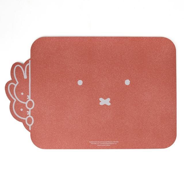 【怪獸】Miffy米飛兔 超吸版 軟式珪藻土吸水地墊(60cm x 40cm)