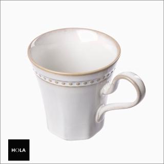 【HOLA】瑞斯馬克杯400cc-米白