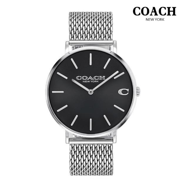 【COACH】紳士經典米蘭男錶【贈玻璃保護貼】(共4款)