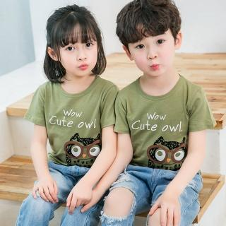 【Baby 童衣】兒童短袖上衣 卡通塗鴉短T恤 88673(共5色)