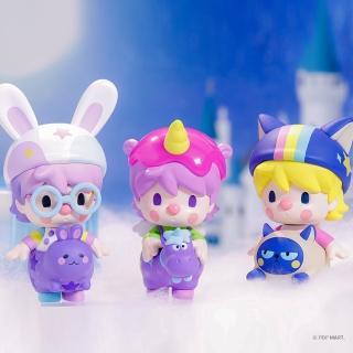 【POPMART 泡泡瑪特】小甜豆動物寶寶系列公仔盒玩(兩入隨機款)