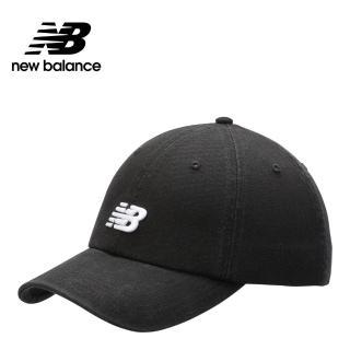 【NEW BALANCE】NB 復古棒球帽_中性_黑色_LAH91014BKFF(加價購商品)