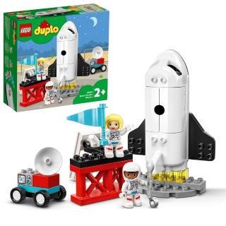 【LEGO 樂高】得寶系列 太空梭任務 10944 太空人 火箭(10944)