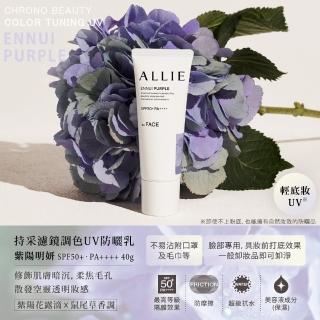 【Kanebo 佳麗寶】ALLIE 濾鏡調色UV防曬乳買2送2獨家組(防曬乳40gx2+水凝乳40g+飾底乳25g)