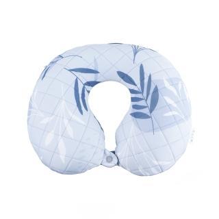 【生活工場】【618品牌週】森然植繪充氣頸枕-灰藍_附頸枕套