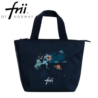 【Frii 自由】萬用便當袋-英雄藍黑Superhero(樂寶官方獨家Frii便當袋)
