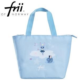 【Frii 自由】萬用便當袋-動物藍Fantasy(樂寶官方獨家Frii便當袋)