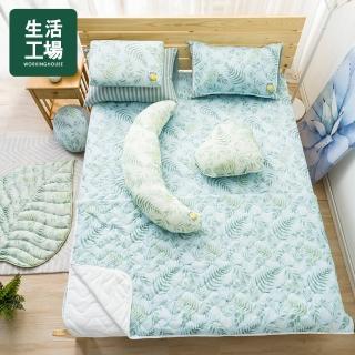 【生活工場】【618品牌週】沐夏森林涼感床墊186*150cm