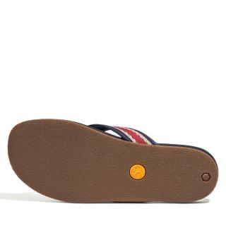 【Timberland】男款紅色織帶人字拖鞋(A2QYJ632)