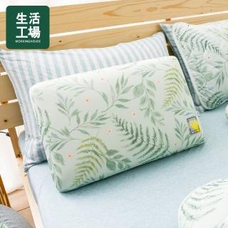 【生活工場】【618品牌週】沐夏森林涼感低反彈枕-綠