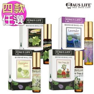 【星期四農莊】100%茶樹精油50ml+100%薰衣草精油50ml+舒涼滾珠精油5.3ml