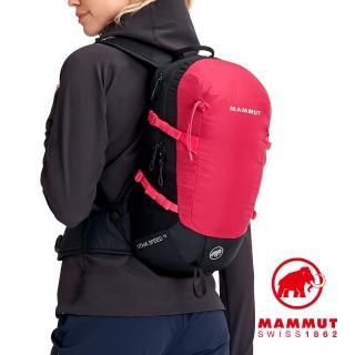 【Mammut 長毛象】Lithia Speed 15 登山後背包 火龍果/黑 #2530-03131