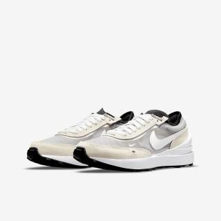 【NIKE 耐吉】NIKE WAFFLE ONE 平價版Sacai  男女大童 休閒鞋 2款任選(DC0481100 DC0481600)