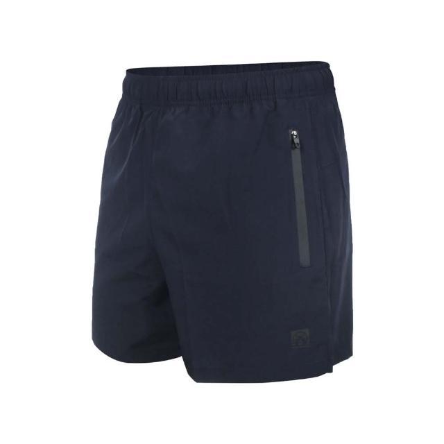 【FIRESTAR】男彈性平織短褲-三分褲