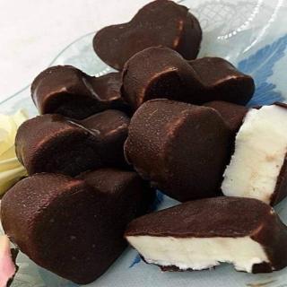 【極鮮配-加購價】香草巧克力-愛心小雪球(4顆/包)