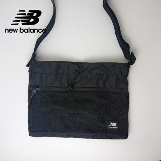 【NEW BALANCE】NB 韓系休閒斜背小包_男款/女款_黑色_BGCBAA604BK(加價購商品)