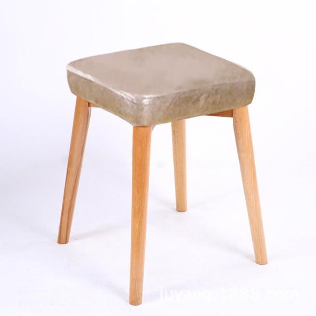 【Incare】北歐風方形布藝實木椅凳(餐椅/化妝椅/休閒椅/椅凳/換鞋椅/靠腳凳)