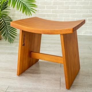 【瑪荷尼家具 Mahogany】全原木 桃花心木 丹麥化粧椅 G2(化妝椅 椅子凳子)