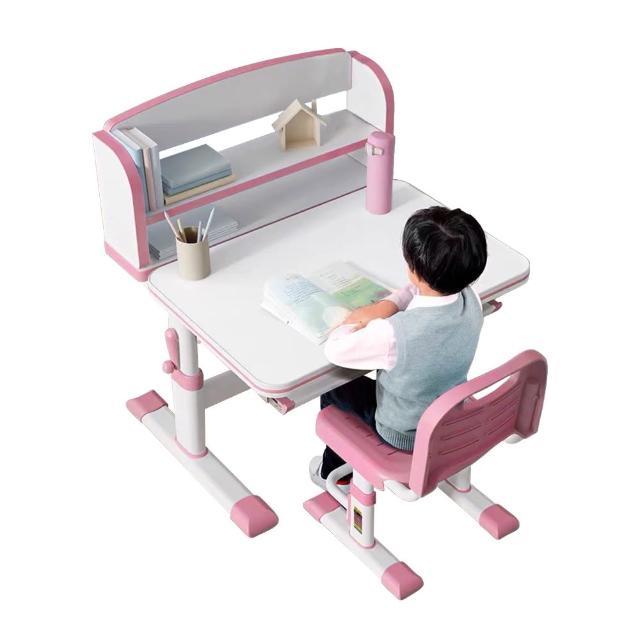 【成長天地】兒童書桌椅 80cm桌面 手搖升降桌椅 兒童桌椅  不含檯燈(DK304)