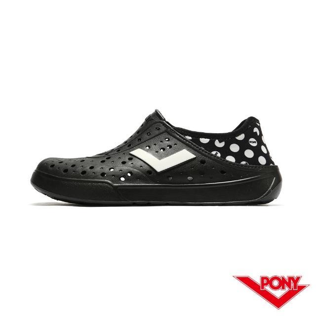 【PONY】防水 拖鞋 ENJOY洞洞鞋 踩後跟 雨鞋 水鞋 中性款-小精靈 3色