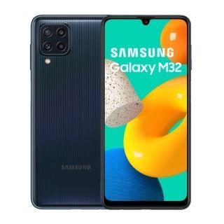 防爆殼貼組合【SAMSUNG 三星】Galaxy M32 6.4吋四主鏡智慧型手機(6G/128G)