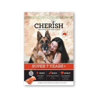 【CHERISH 切爾西】雞肉鮭魚低敏聰明高齡犬配方試吃包 100G(高齡犬配方飼料 試吃包)